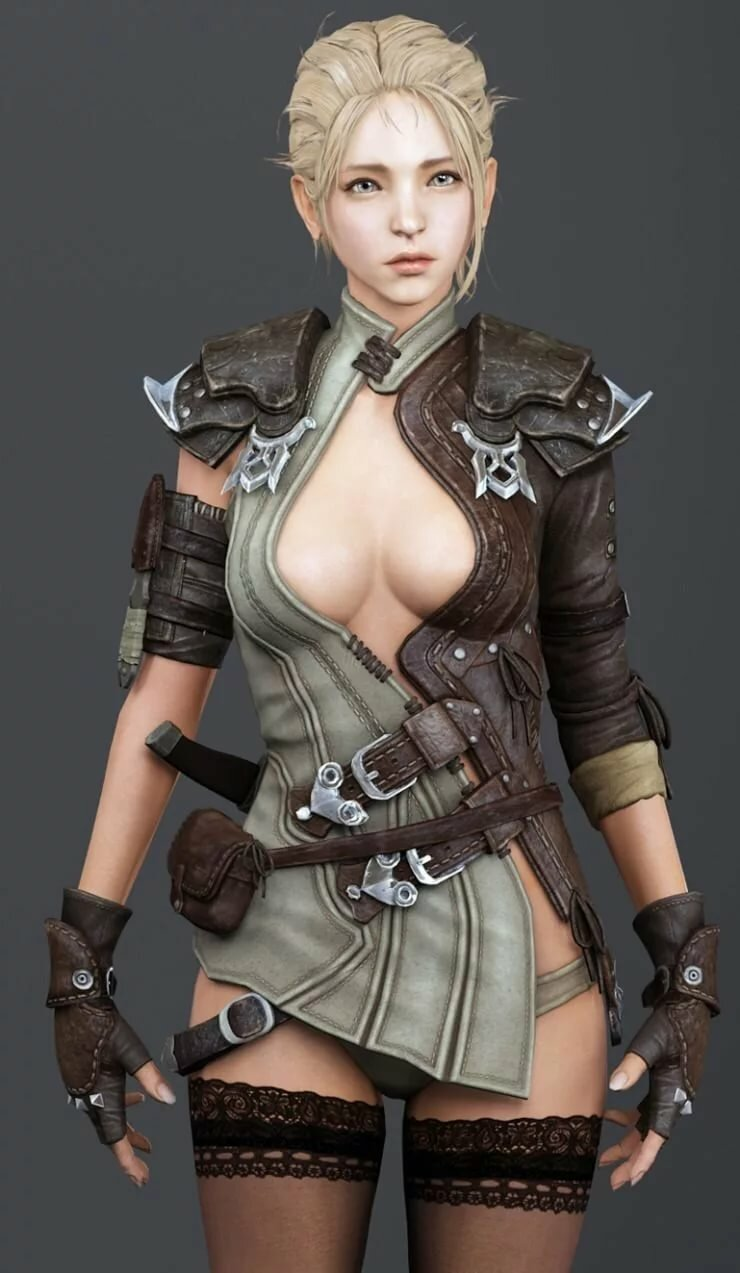 Nudity video game characters