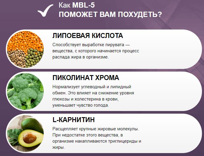 MBL-5 для похудения в Волгодонске
