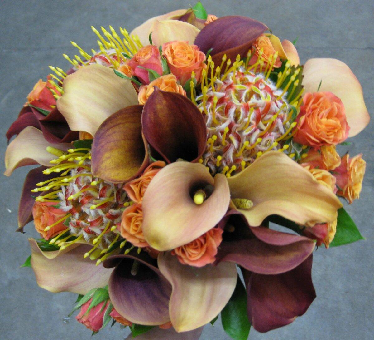 Необыкновенные букеты цветов картинки