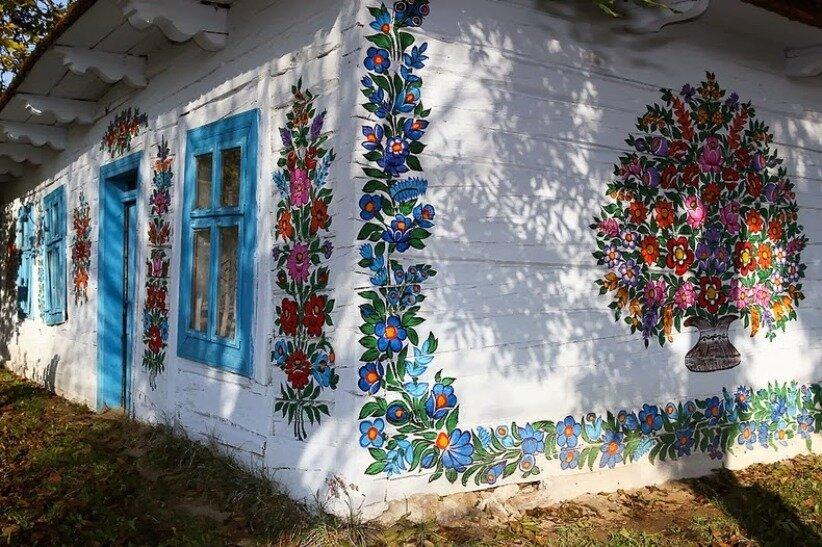 открыто заявляют, как покрасить деревенский дом картинки перед вашими глазами