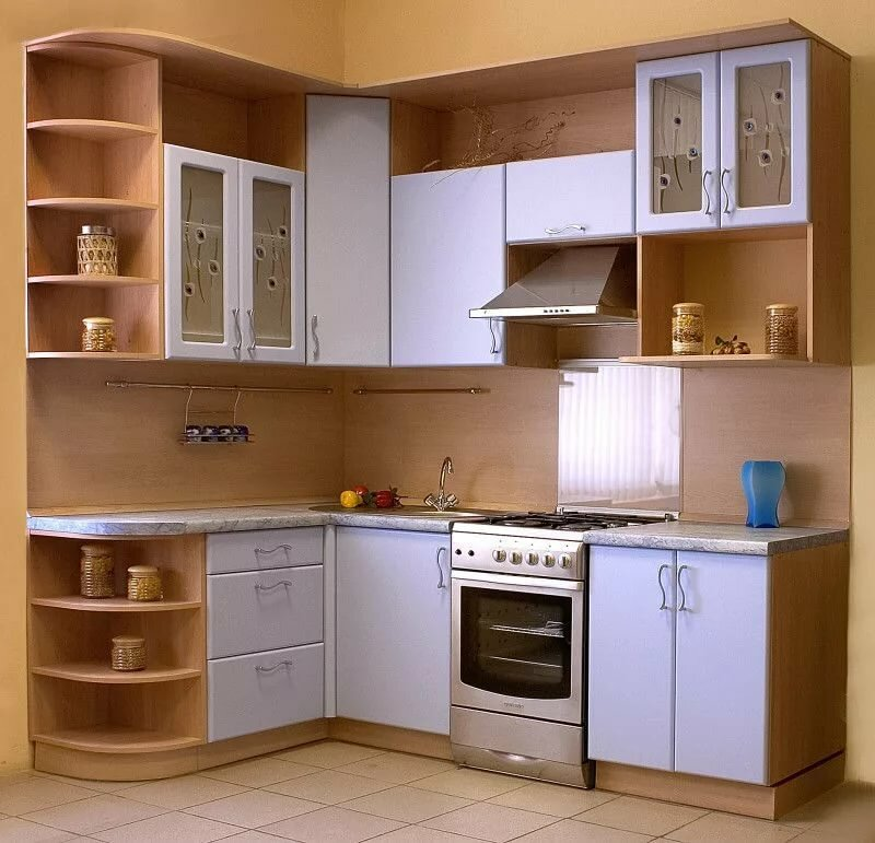 кухни под углом картинки комната хозяйкой