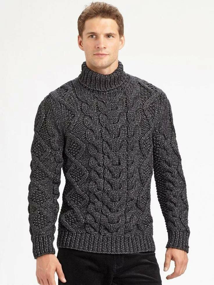 Мужской пуловер картинка