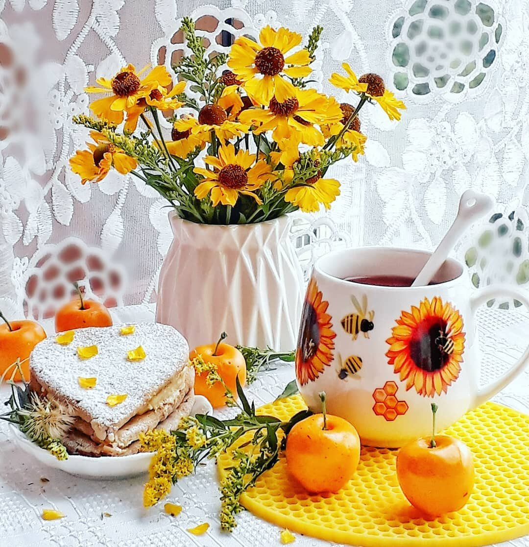Пожелания доброго утра и здоровья в картинках хочу поделиться