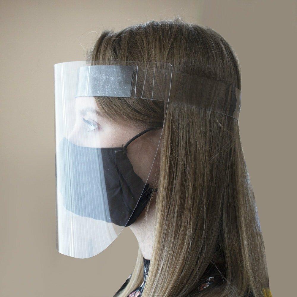 Защитные экраны для лица от вирусов