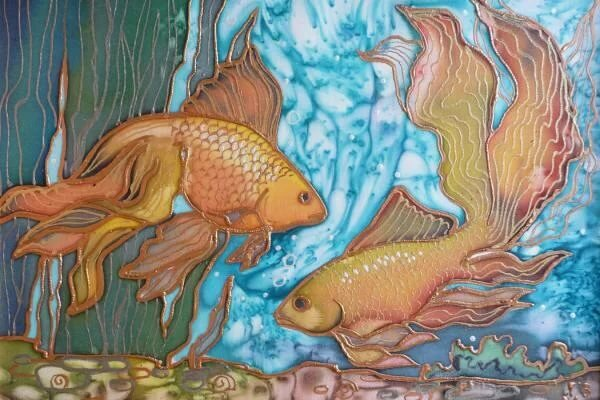 почему это картинки подводного мира батик костюмов