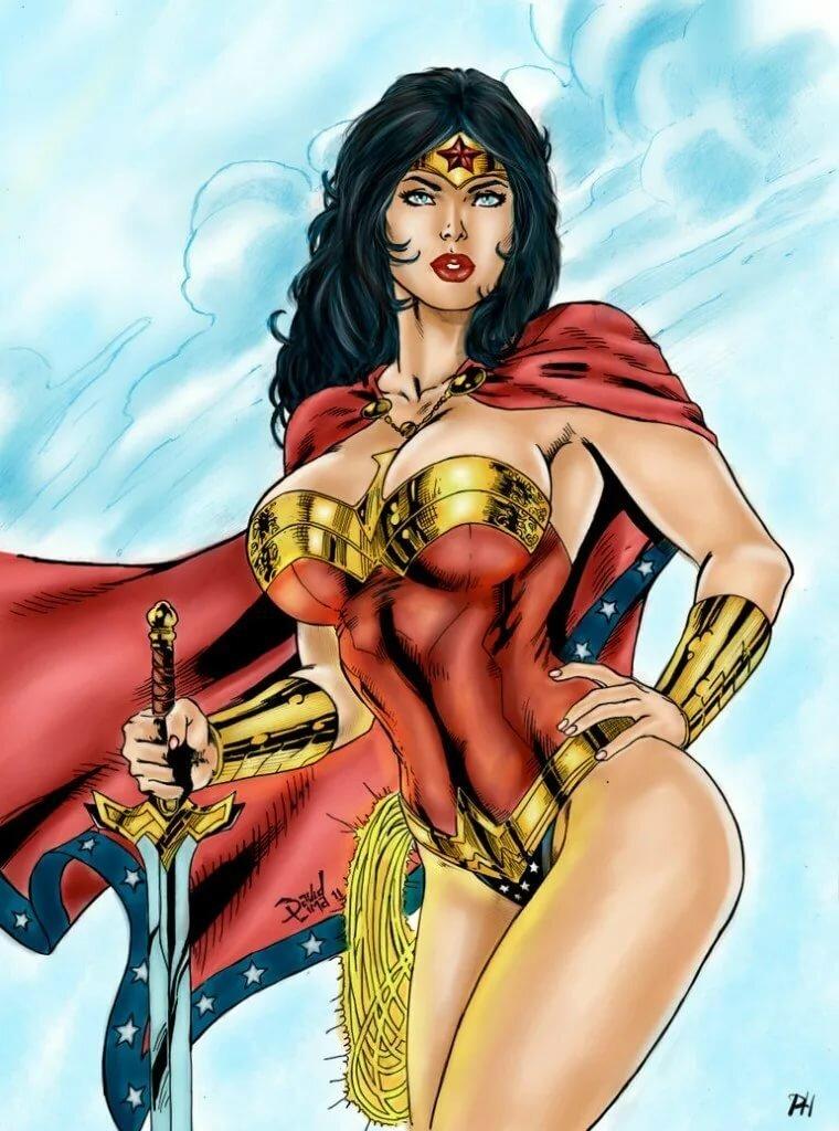 Wonder girl dc nude