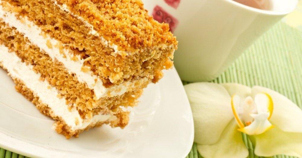 крем для медового торта рецепт с фото весільне фото