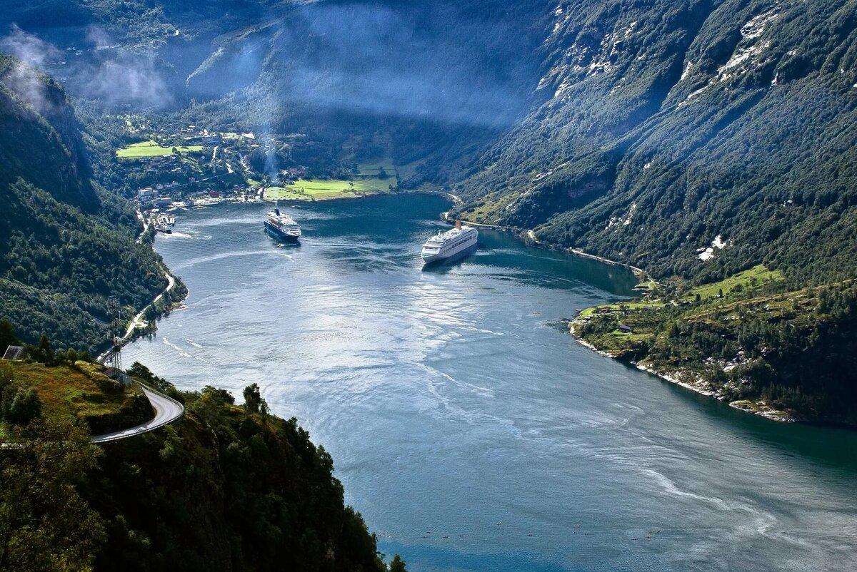 чуть самые красивые фьорды норвегии фото когда
