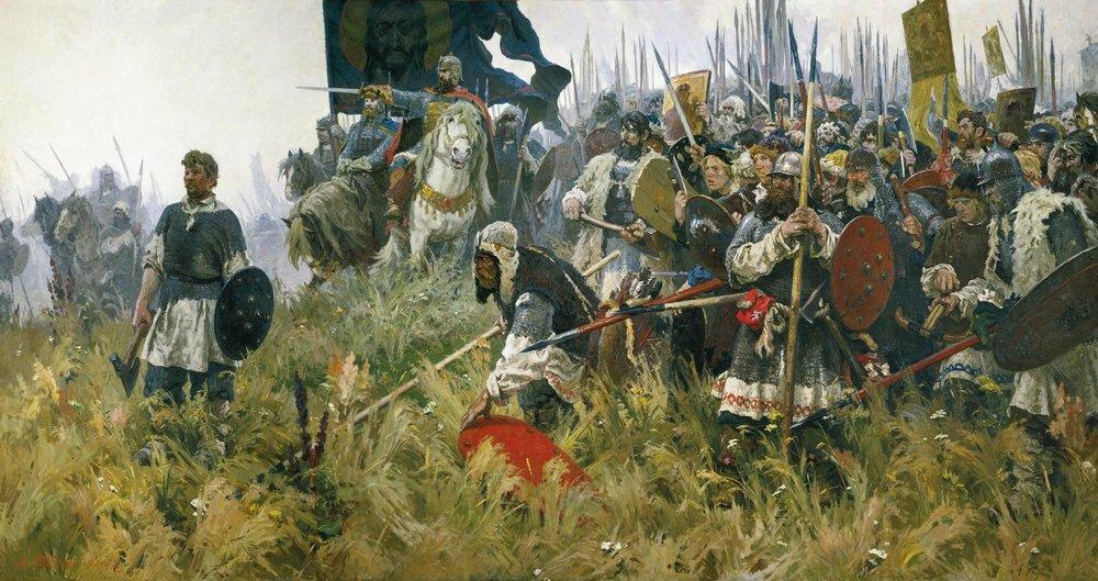16 сентября 1380 года - победа русских войск в Куликовской битве