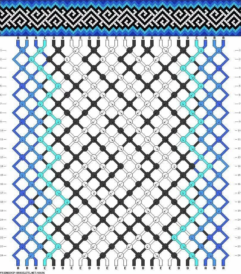 картинки для плетения фенечки нужен