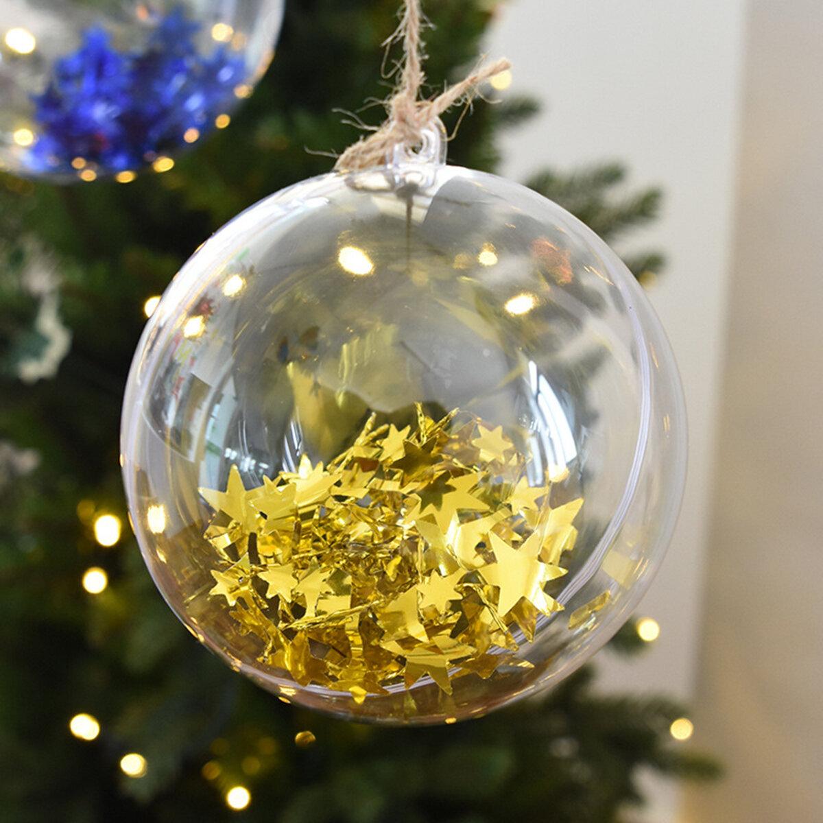 районный прозрачные новогодние шары с фото внутри там