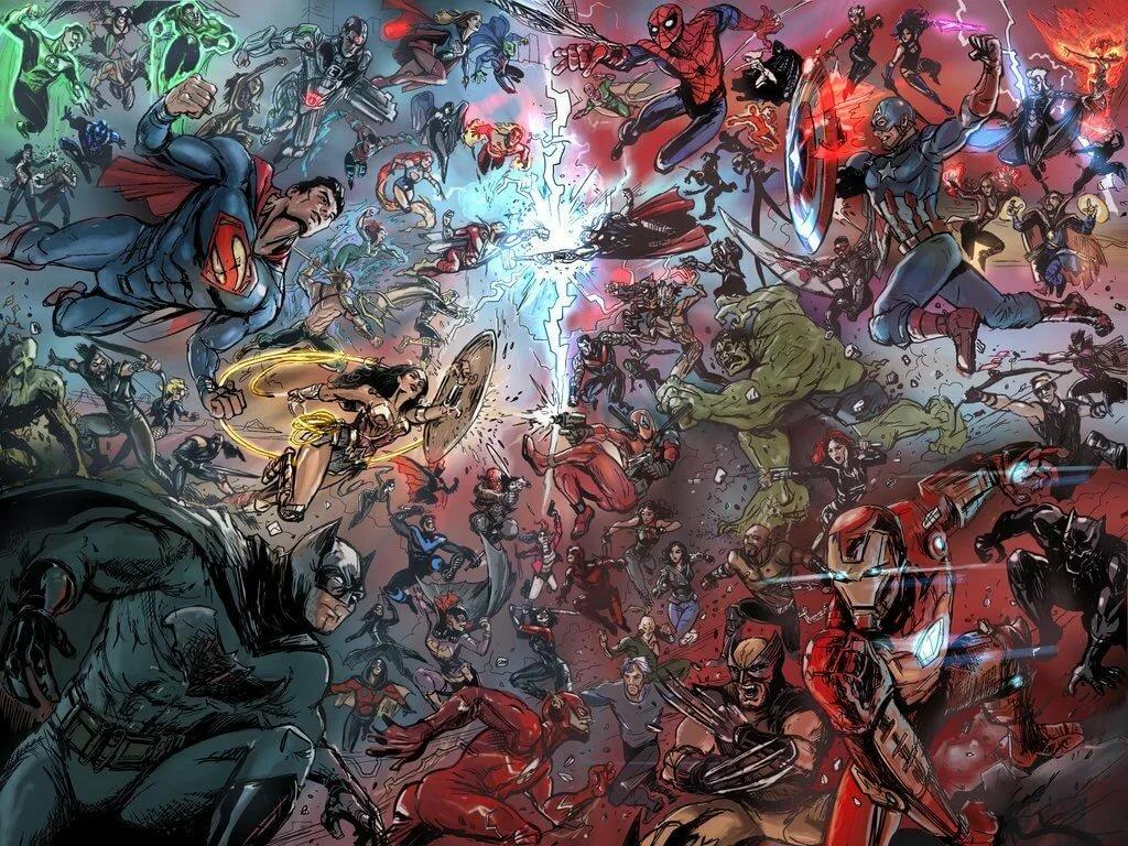 диктанту картинки супергероев вселенной марвел часах стоит