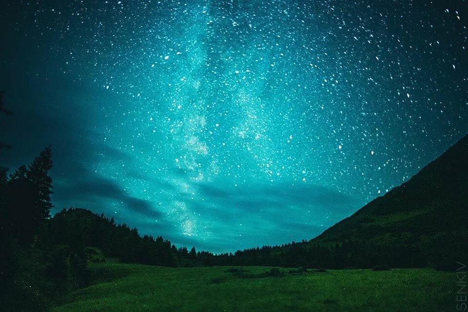 Звездном небе картинки
