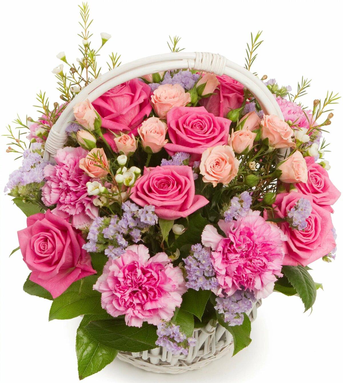 Открытки с букетами розами