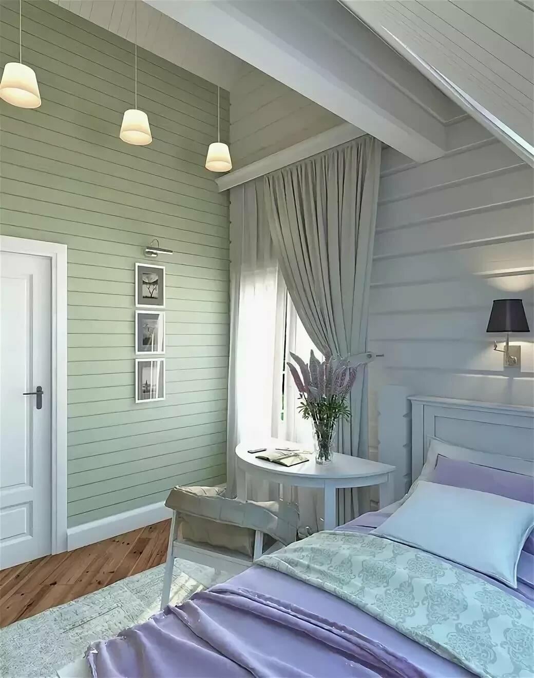Покраска вагонки внутри дачного дома с фото