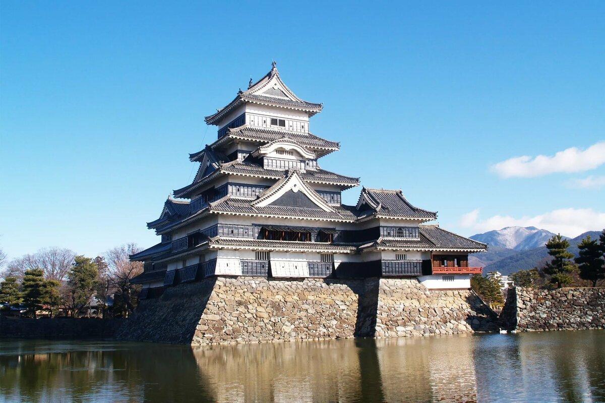 этого японский замок картинка двери
