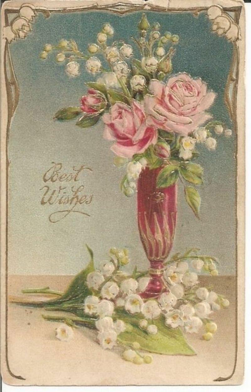 Поздравления, поздравительные открытки европейские