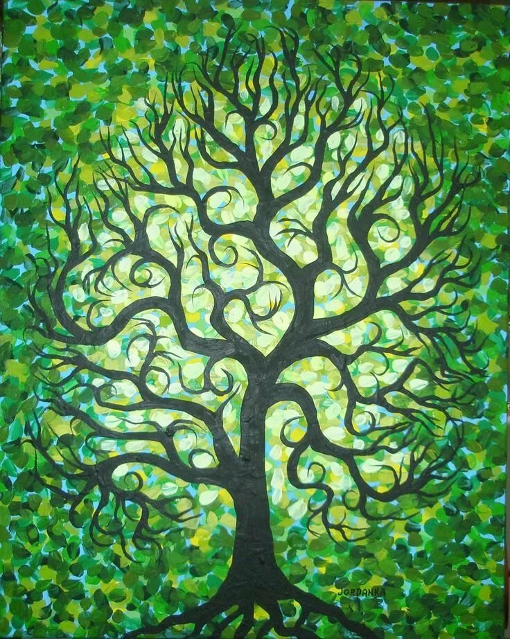 тенденция древо жизни картинка фон это