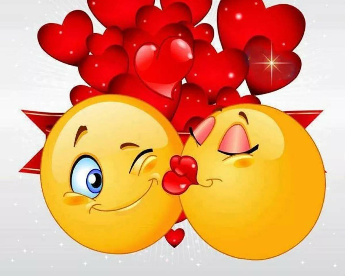 Картинки с поцелуйчикам
