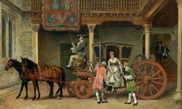 кареты 19 век картина