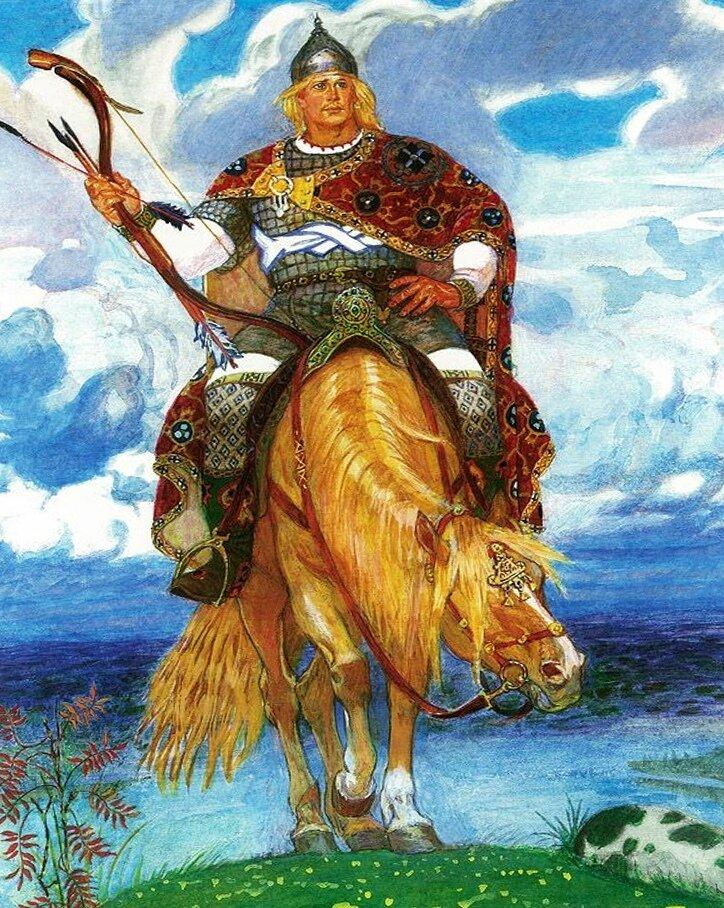 Богатыри из русских народных сказок картинки