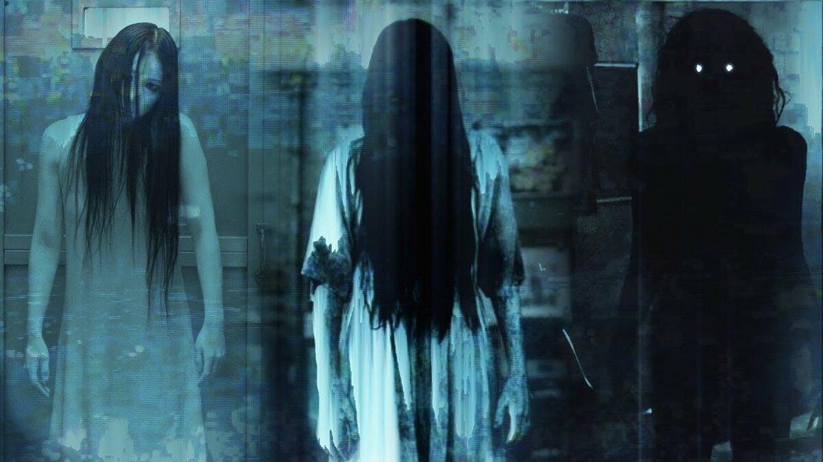 Картинки жутких привидений