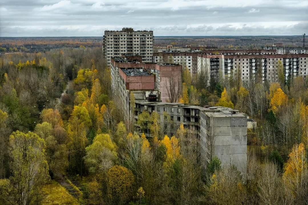 Заброшенные города в картинках