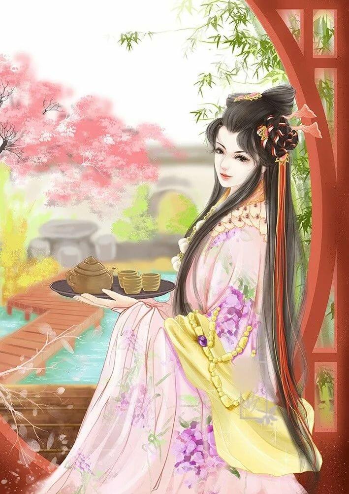 Аниме картинки китайские