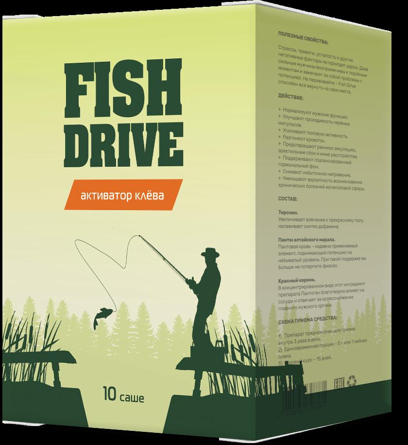 Fish Drive - активатор клёва в Уфе