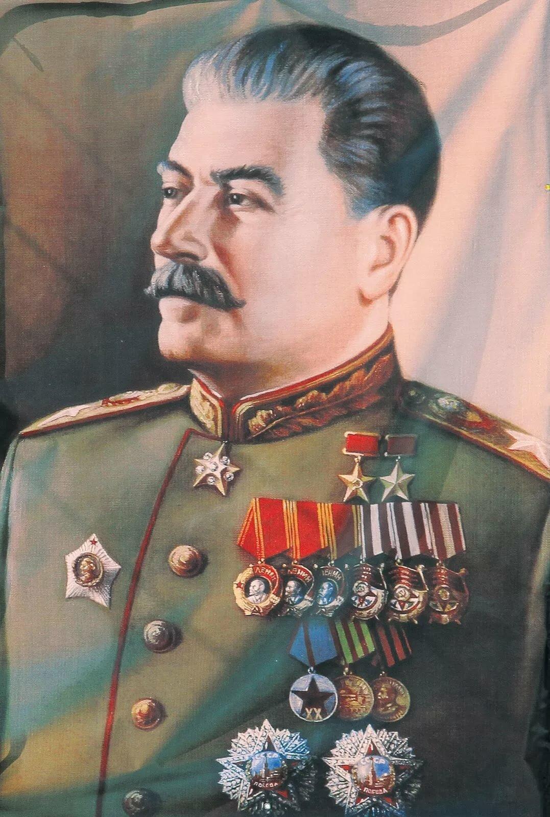 Картинки сталина, открытка так будет