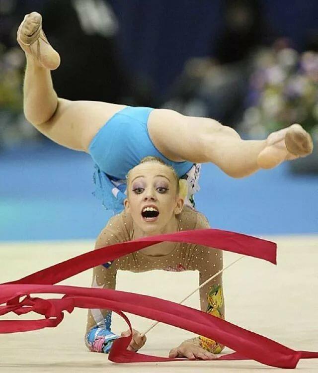 Прикольные картинки с гимнастками