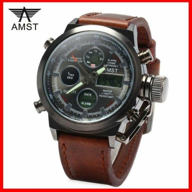 Армейские наручные часы AMST в Холме