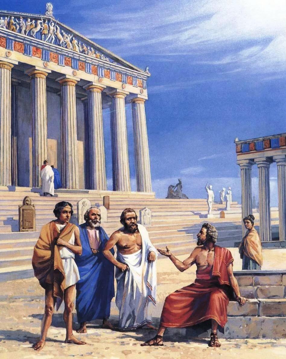живой картинки о культуре древней греции стандартная