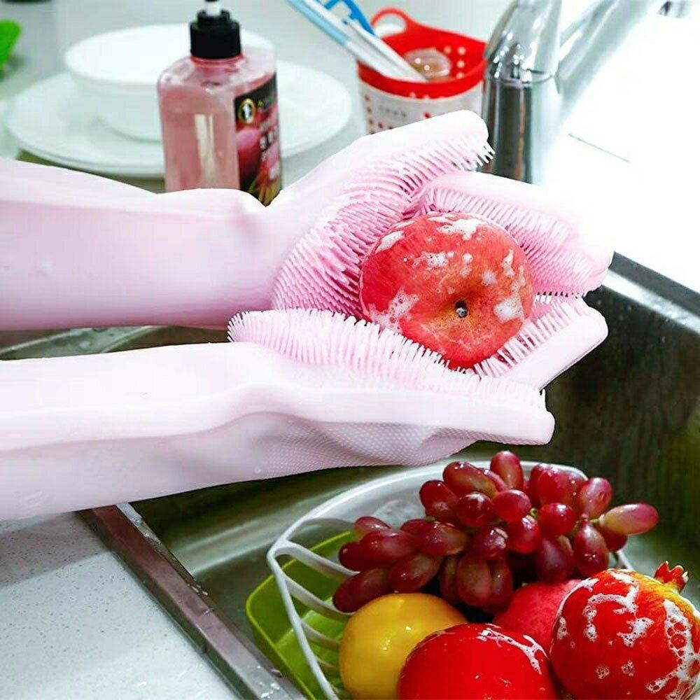 Перчатки-губки Magic Brush в Жуковском