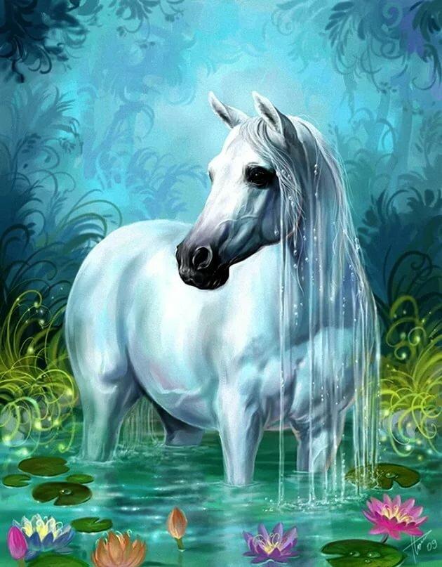 Картинки на телефон лошади анимация, открытки через