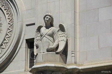 собор петра и павла в вашингтоне скульптура
