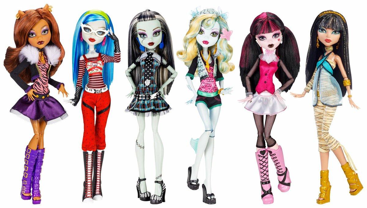 Картинки монстр хай всех кукол