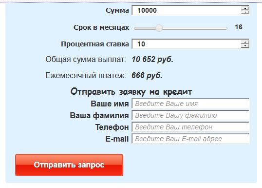 в какие банки подать заявку на кредит онлайн