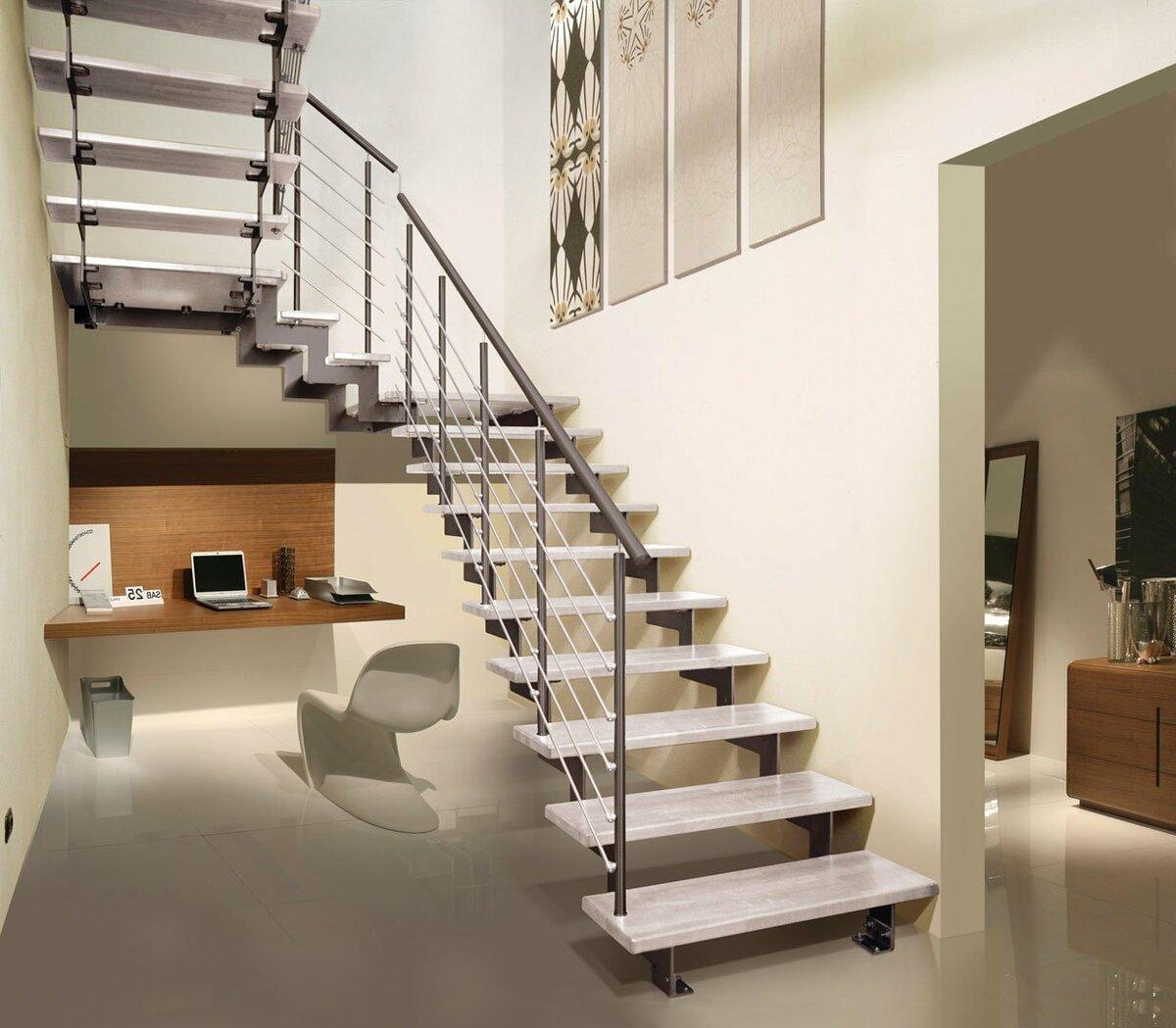 лестница второй этаж картинки коричнево-рыжими
