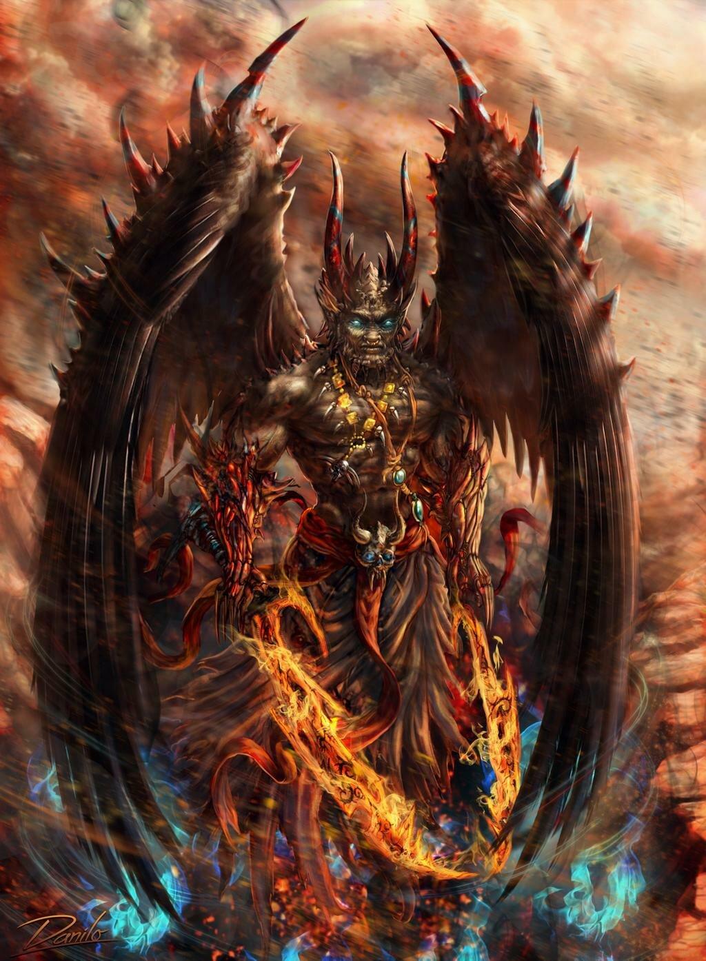 Демоны картинки в хорошем качестве