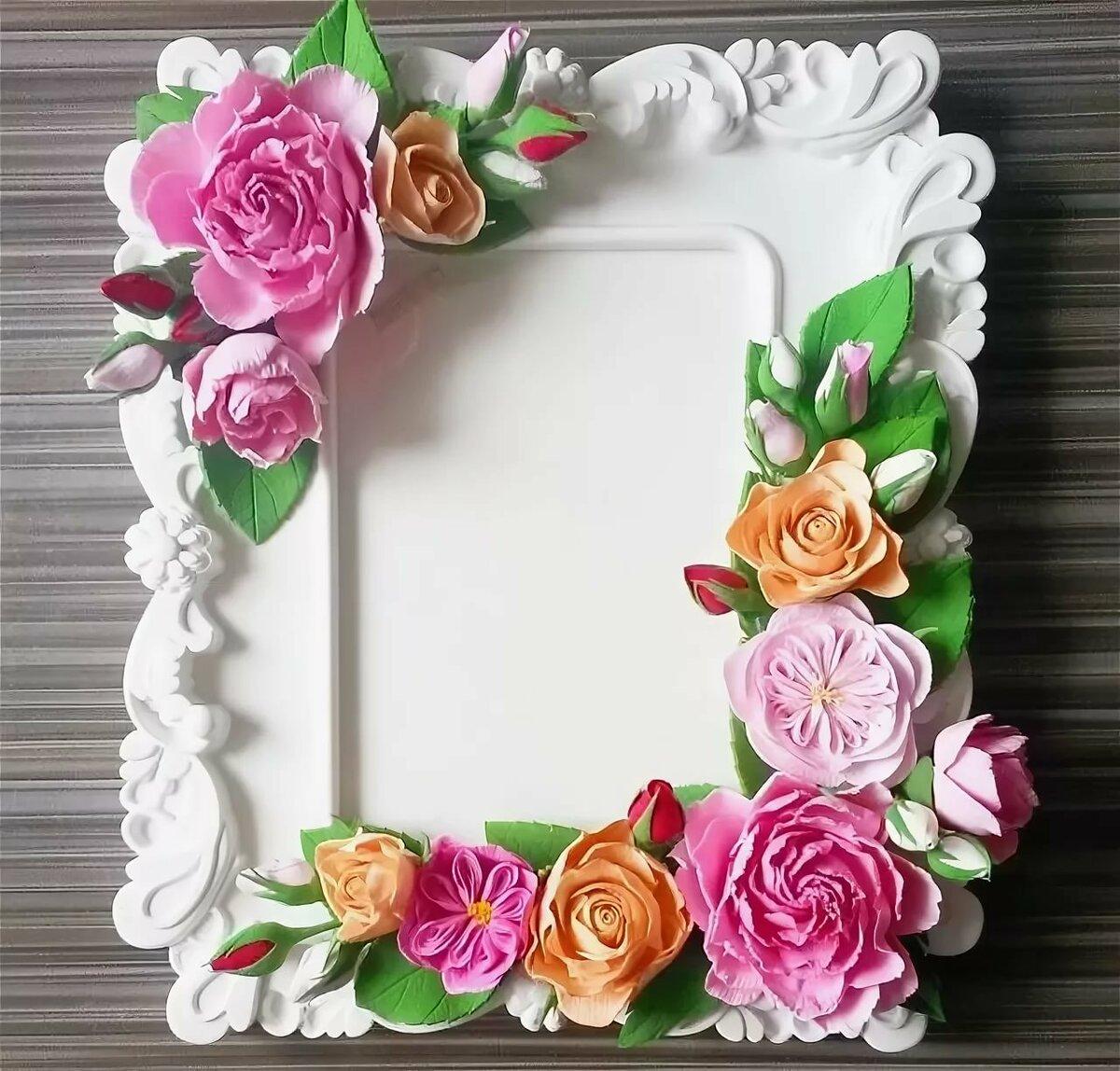 розы из фоамирана для рамки с фото тренировались отдельно