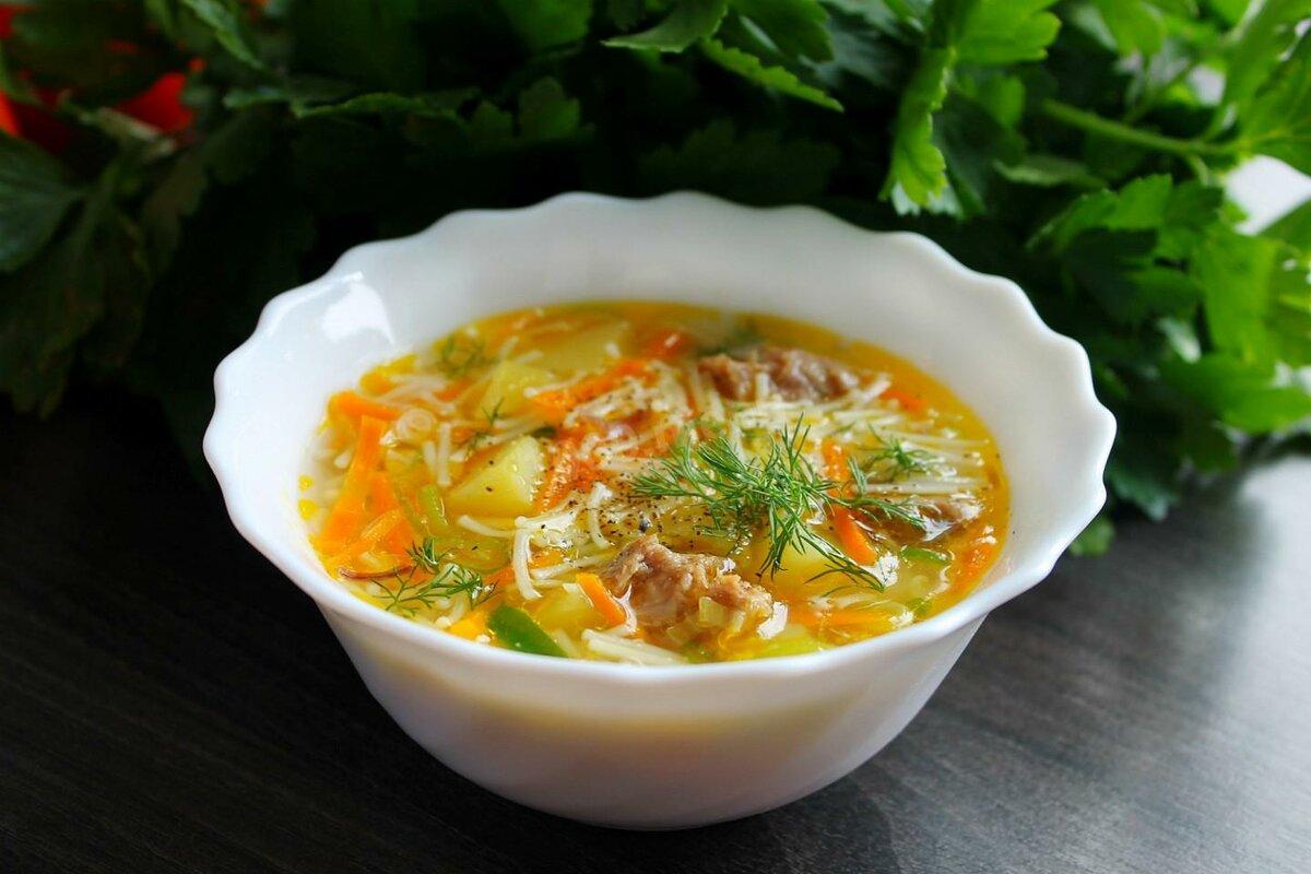 социальной быстрые супы рецепты с фото простые очистить картофель