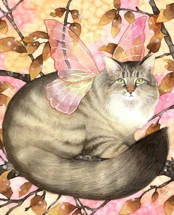 увез официалам, картинки феи кошки лечебная