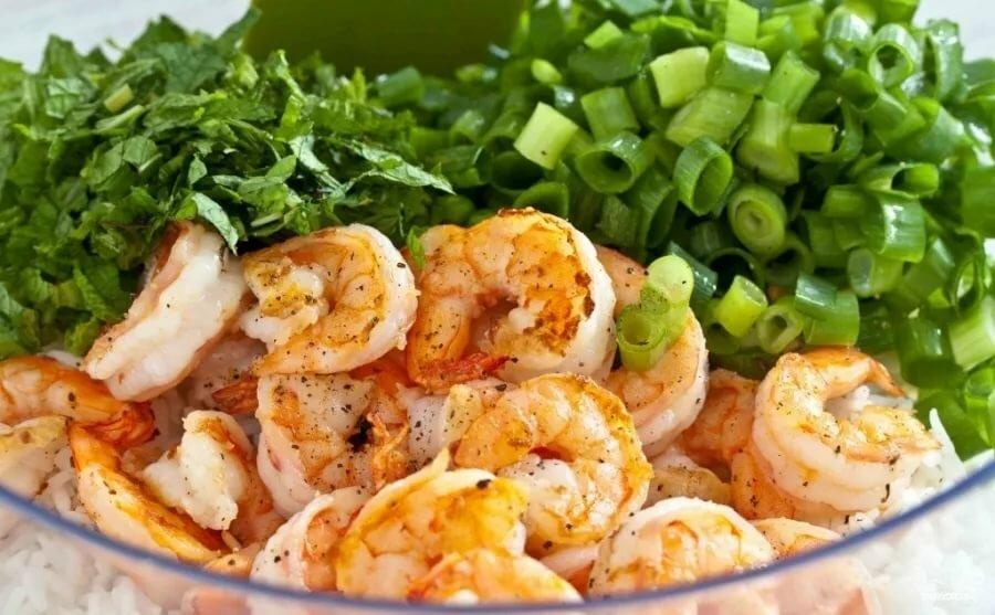 Креветки салаты рецепты с фото