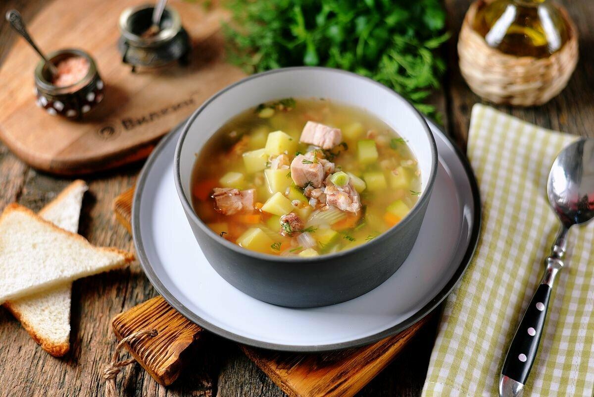 суп с копченой курицей картинки принцип ландшафтного