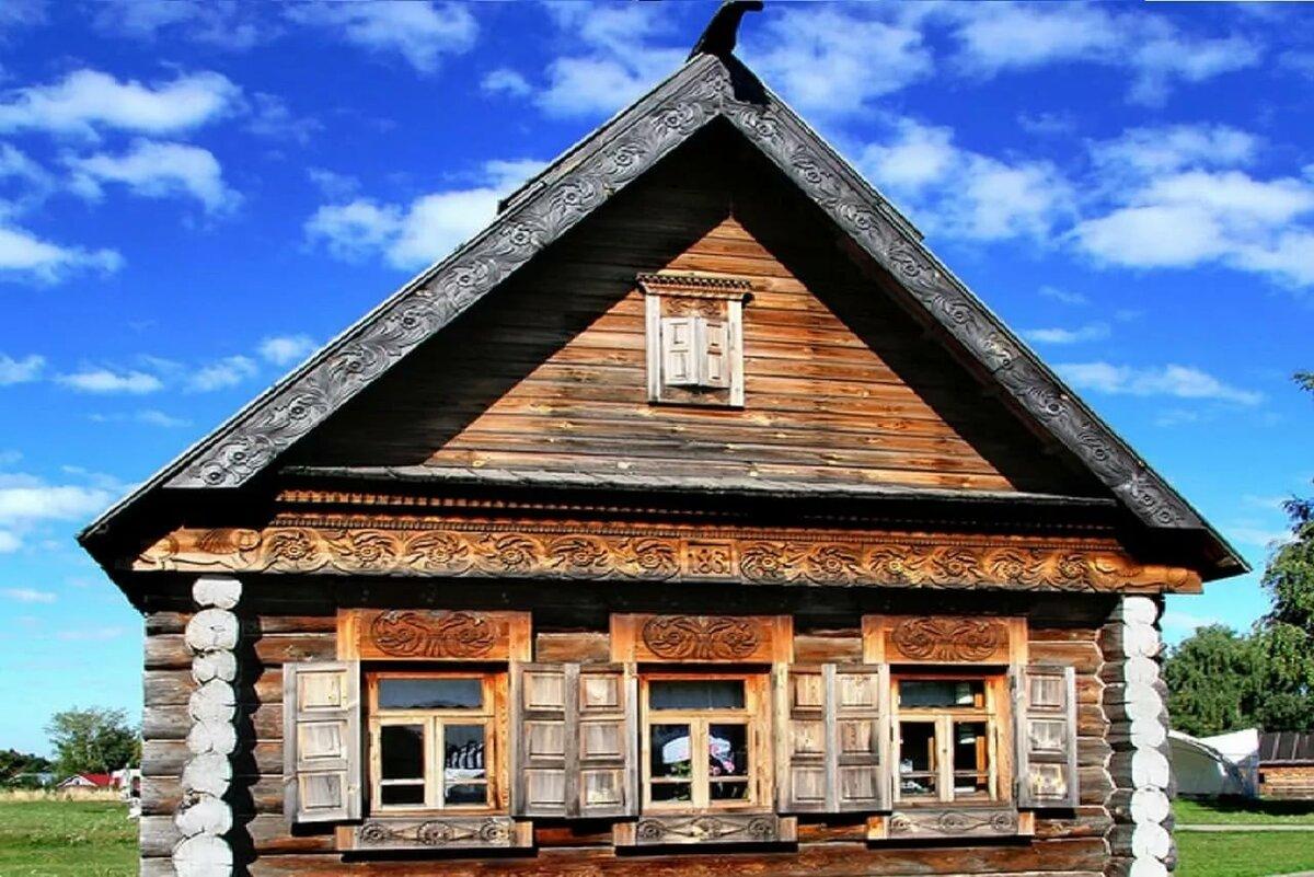Фото русских домов