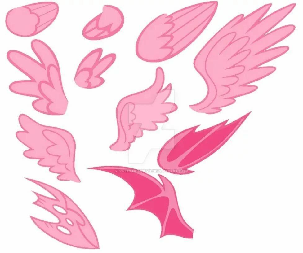 Рабочий стол, картинки крылья пони