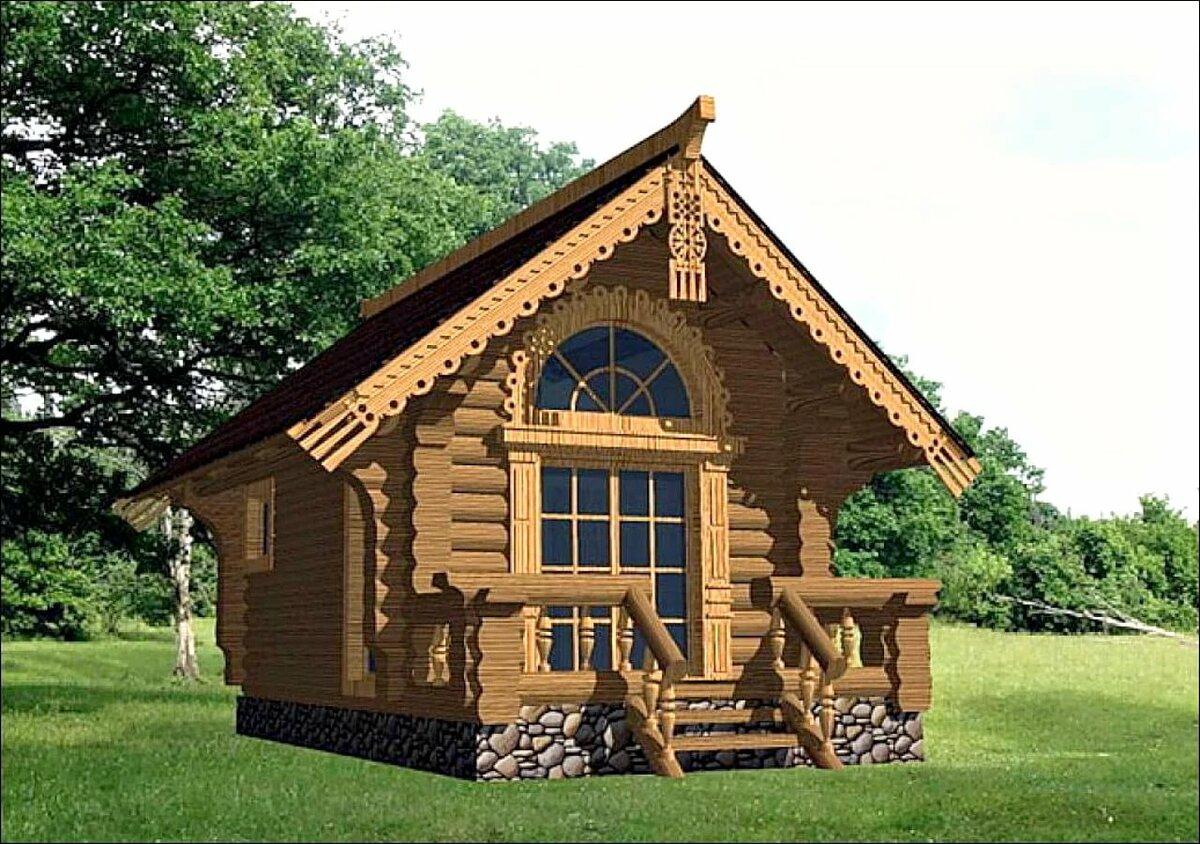 вот хорошенький деревянный домик фото первый год путешествовали