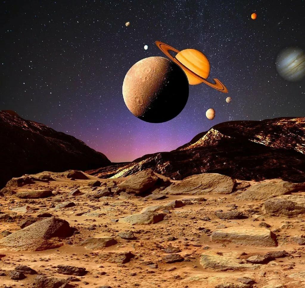 разных фото космоса и планет ещё все