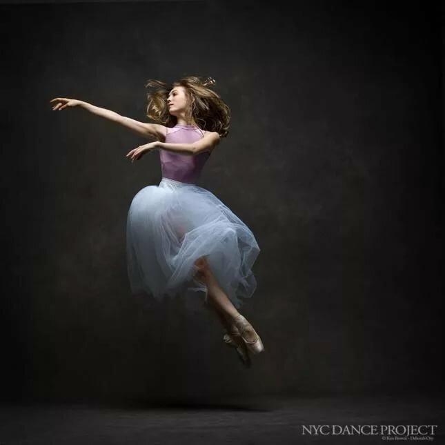 Студия фотографии балерина